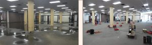 Commercial Water Damage Restoration - Fast response!