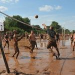 Mud Volleyball for Epilepsy Update