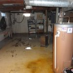 What happens when ground water is intruding on your home?