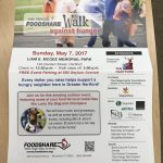 DRS will be participating in the 34th Annual Foodshare Walk Against Hunger
