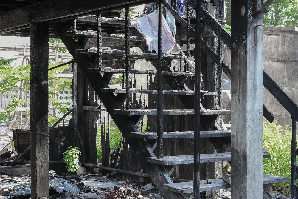 Apartment fire escape planing | Fire damage restoration service and board up service from DRS Disaster Restoration Services of Portland, CT, MA, and RI