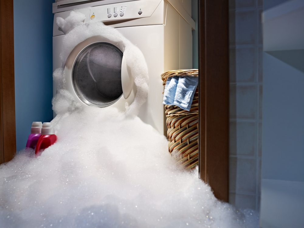 Washing machine hoses can cause significant water damage to your home or property | Water damage restoration services by DRS Disaster Restoration Services of Portland, CT, MA, and RI