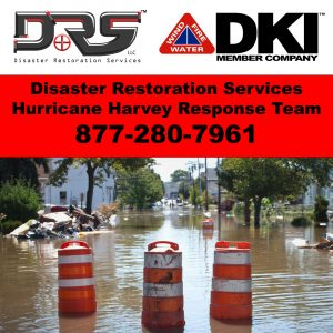 DRS is assisting with cleanup from Hurricane Harvey