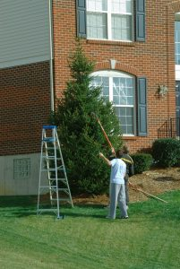 holiday decorating safety tips ladder safety DRS Disaster Restoration Services of Portland, Middletown, New Britain, New Haven, Norwich, CT, Springfield, Chicopee, Worcester, Framingham, MA, and Providence, Warwick, Taunton, and Fall River, RI