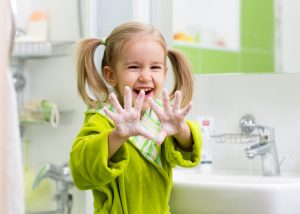 encourage hand washing to stop the spread of flu virus from infecting commercial buildings | DRS Disaster Restoration Services of Portland, Middletown, New Britain, New Haven, Norwich, CT, Springfield, Chicopee, Worcester, Framingham, MA, and Providence, Warwick, Taunton, and Fall River, RI