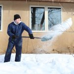 clear snow away from house to prevent flooding and water damage inside DRS Disaster Restoration Services of Portland, Middletown, New Britain, New Haven, Norwich, CT, Springfield, Chicopee, Worcester, Framingham, MA, and Providence, Warwick, Taunton, and Fall River, RI